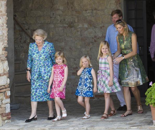 Фоторепортаж о фотосессии голландской королевской семьи. Фото: Michel Porro/Getty Images
