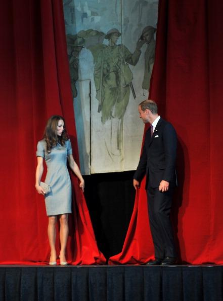 Фоторепортаж о третьем дне канадского тура герцога и герцогини Кембриджских Уильяма и Кейт. Фото: Chris Jackson-Pool/Getty Images