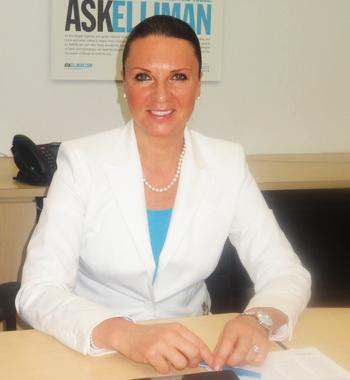 Надежда Дилендорф,  представитель риэлторской компании Douglas Elliman Real Estate в Нью-Йорке. Фото предоставлено Надеждой Дилендорф.