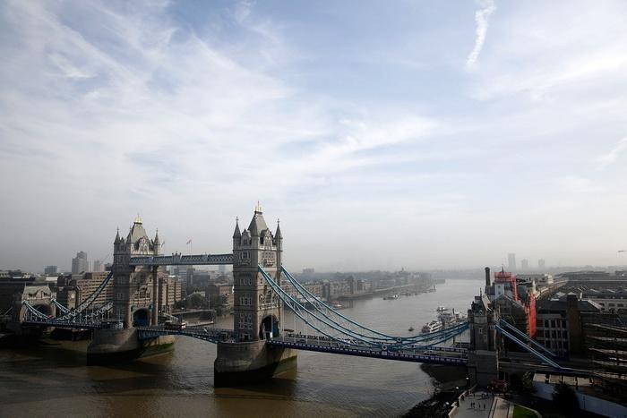 Лондон, река Темза. Фото: Matthew Lloyd/Getty Images