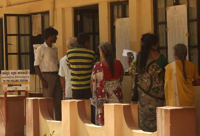 В северной части Шри-Ланки проходят муниципальные выборы. Фото: Buddhika Weerasinghe/Getty Images
