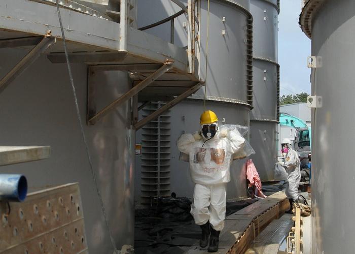 АЭС «Фукусима-1». Фото: JAPAN POOL/AFP/Getty Images