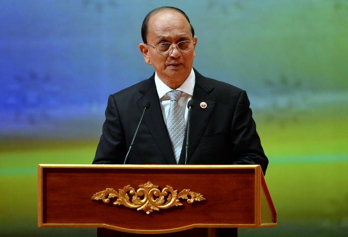 Президент Мьянмы Тейн Сейна. Фото: ROSLAN RAHMAN/AFP/Getty Images