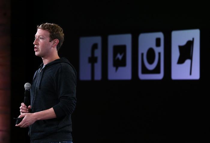 Марк Цукерберг. Фото: Justin Sullivan/Getty Images