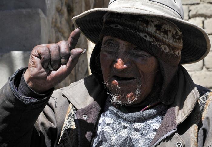 Старейший человек в мире — 123-летний индеец — живёт в Боливии. Фото: AIZAR RALDES/AFP/Getty Images