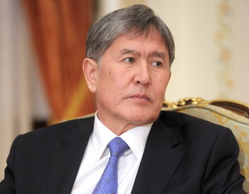 Президент Кыргызстана Алмаз Атамбаев. Фото: premier.gov.ru