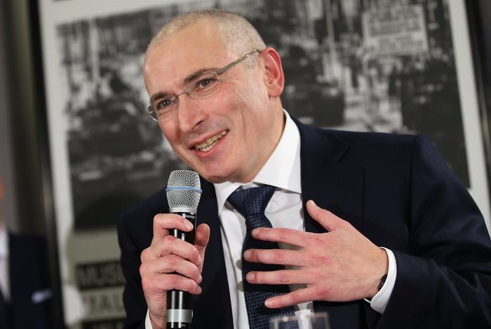 Экс-президент «ЮКОСа» Михаил Ходорковский. Фото: Sean Gallup/Getty Images