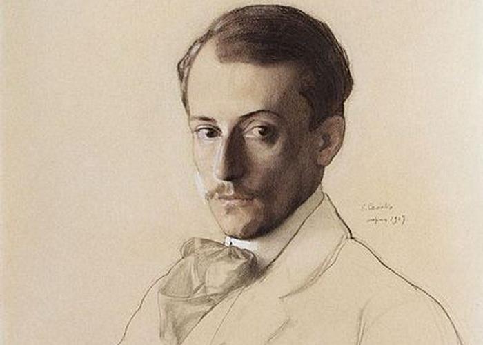 Портрет художника Евгения Лансере. Автор Константин Сомов (1869–1939)