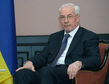 Премьер министр Украины Николай Азаров. Фото: premier.gov.ru