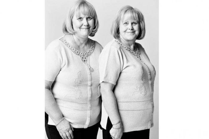 Даниэль Буше и Джоветта Демаре: эти две женщины-пенсионерки, которых не связывает кровное родство, любят появляться где-нибудь вместе и в одинаковой одежде. Им нравится, что люди всегда принимают их за сестёр-близнецов. Фото: Franзois Brunelle