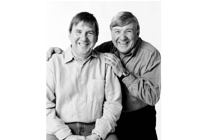 Реми Жирар и Габриэль Жильбер: Габриэля, который живёт в Монреале, Канада, всегда принимают за Реми, известного в провинции актёра. Фото: Franзois Brunelle