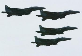 Боевые самолёты F-15 Eagle. Фото: Alex Wong/Getty Images