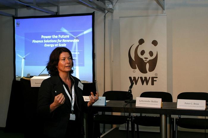 Саманта Смит специалист WWF. Фото: WWF@COP18/flickr.com
