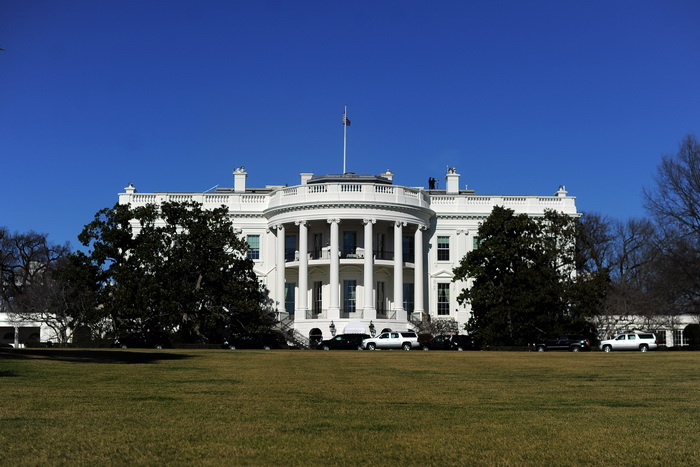 В Белый дом вновь пытался проникнуть неизвестный. Фото: JEWEL SAMAD/AFP/Getty Images