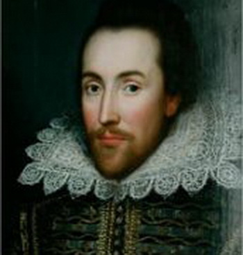 Прижизненный портрет Вильяма Шекспира. Фото: commons.wikimedia.org