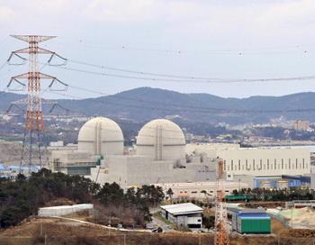 В городе Ульчжине, что на юго-востоке Республики Корея, произошла остановка реактора «Хануль №5», 28 января 2014 года. Фото: JUNG YEON-JE/AFP/Getty Images