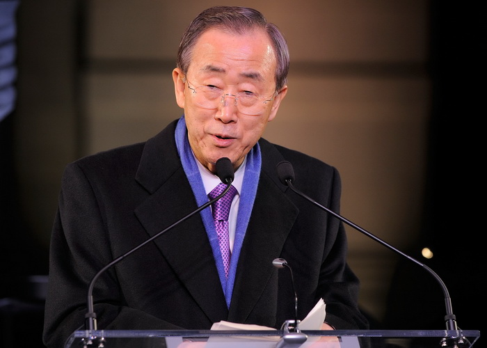 Генеральный секретарь ООН Пан Ги Мун. Фото: Jemal Countess/Getty Images