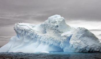 Учёные подо льдами Антарктиды обнаружили вулкан. Фото: RODRIGO ARANGUA/AFP/Getty Images