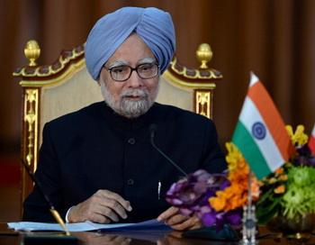 Премьер-министр Индии Манмохан Сингх. Фото: PORNCHAI KITTIWONGSAKUL/AFP/Getty Images
