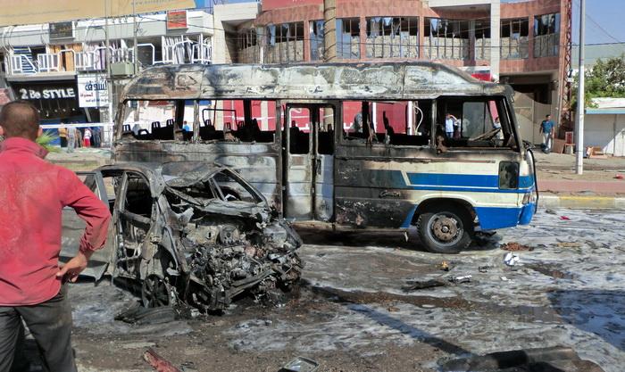 В Ираке от рук террористов погибли 66 человек. Фото: MARWAN IBRAHIM/AFP/Getty Images