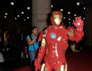 В Армии США рассматривается возможность создания костюма из брони, аналогичного костюму Железного человека — героя комиксов Энтони Старка. Фото: Daniel Zuchnik/Getty Images