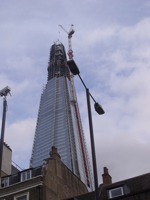 Лондонский небоскрёб. Фото: ell brown/flickr.com