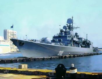 Фрегат «Гетман Сагайдачный». Фото: А.Тарасов/commons.wikimedia.org/