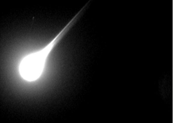 Метеорит, подобный челябинскому, взорвался над Аргентиной. Фото: George Varros and Dr. Peter Jenniskens/NASA/Getty Images
