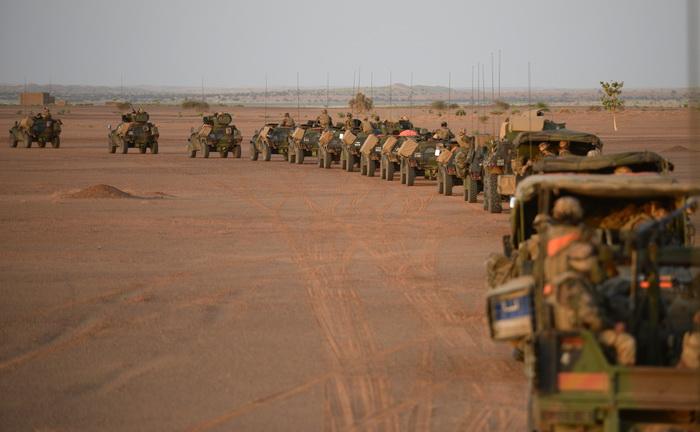 Франция вводит войска в Центральноафриканскую Республику с миротворческой целью. Фото: PHILIPPE DESMAZES/AFP/Getty Images