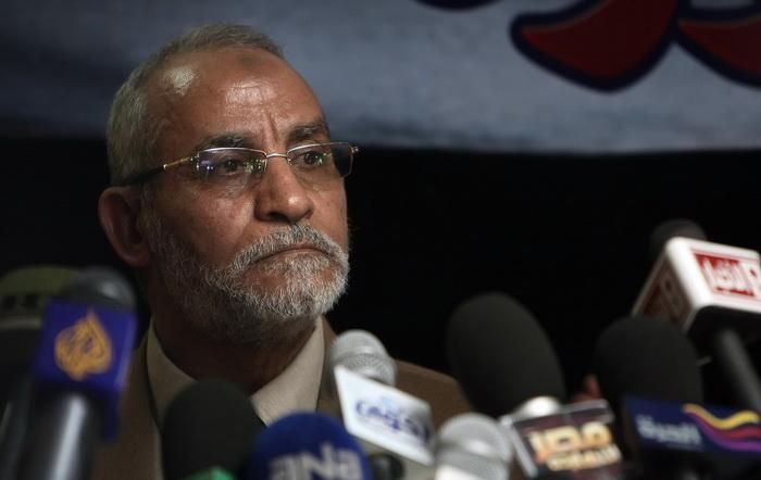 Мухаммед Бади — лидер «Братьев-мусульман». Фото: MAHMUD HAMS/AFP/Getty Images