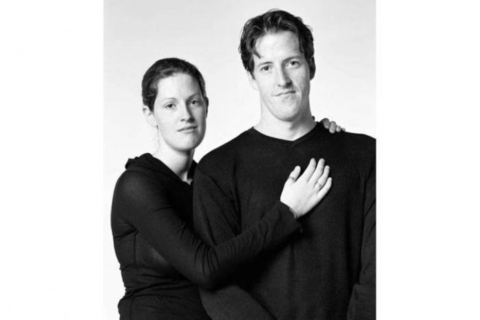 Сара Фурнье и Алан Мадиль: Сара и Алан работали в одном и том же рекламном агентстве, Алан — в качестве арт-директора, а Сара — координатор проекта. Алан родом из Торонто, а Сара из местечка Ваба, близ Оттавы. Фото: Franзois Brunelle