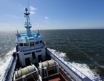 Рыболовное судно в Северном море. Фото: ANOEK DE GROOT/AFP/Getty Images