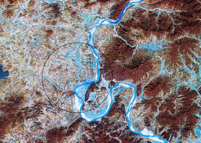 Военные США и Южной Кореи ведут регулярные спутниковые наблюдения за происходящим на северокорейском ядерном полигоне Пунгери. Фото: U.S. International Security Research Institute/Getty Images
