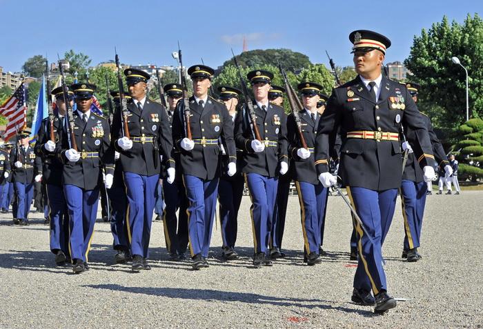 Американские военные используют липосакцию. Фото: JUNG YEON-JE/AFP/Getty Images