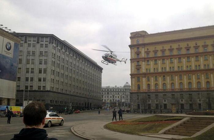 В Москве и Подмосковье может появиться вертолётное такси. Фото: OLEG KASHIN/AFP/Getty Images
