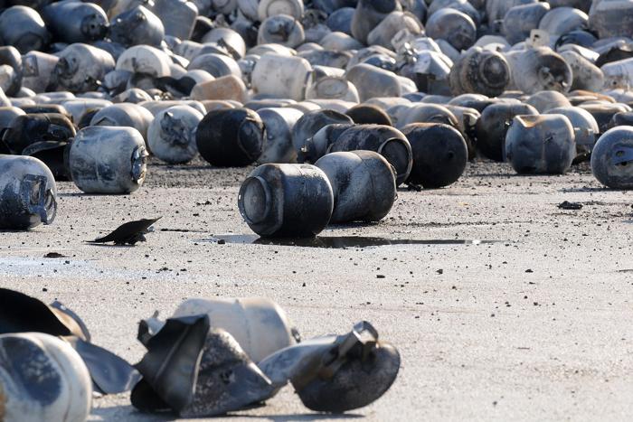 Пропавшие рабочие газоперерабатывающего завода во Флориде найдены живыми. Фото: Gerardo Mora/Getty Images