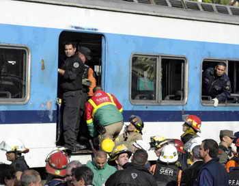 Почти сто человек пострадали в результате аварии поезда в Аргентине. Фото: JUAN MABROMATA/AFP/Getty Images