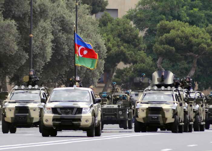 Азербайджан создал самую сильную армию на Южном Кавказе. Фото: TOFIK BABAYEV/AFP/Getty Images