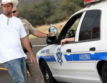 Аризона полиция. Фото: Krista Kennell/AFP/Getty Images