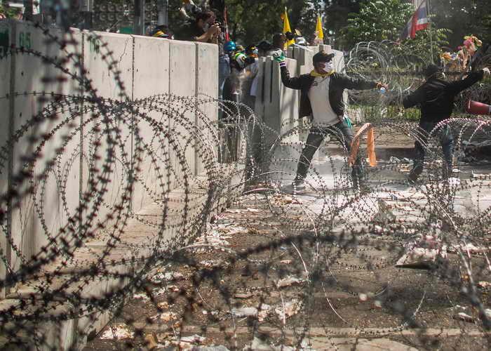 Ситуация в Бангкоке становится всё более напряжённой. Фото: Lam Yik Fei/Getty Images
