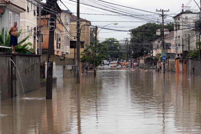 Наводнение в Бразилии. Фото: VANDERLEI ALMEIDA/AFP/Getty Images