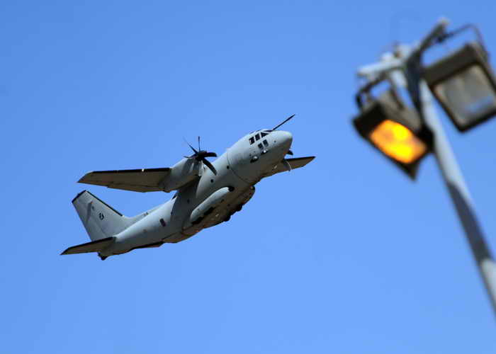 C-27 Spartan. Фото: ATTILA KISBENEDEK/AFP/Getty Images