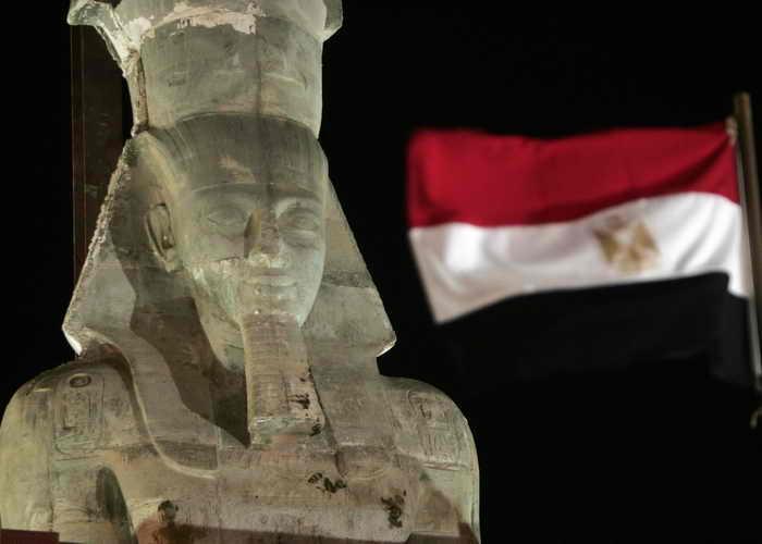 В Египте откопали «Провинциальную» пирамиду. Фото: KHALED DESOUKI/AFP/Getty Images