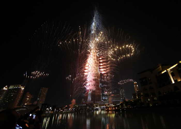 Дубай выиграл тендер на проведение World Expo 2020. Фото: KARIM SAHIB/AFP/Getty Images