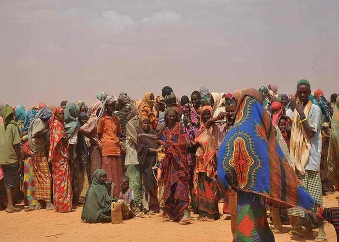 Эфиопские беженцы 9 месяцев добирались пешком до Зимбабве. Фото: flickr.com