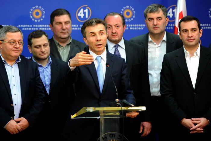 В Грузии на кресло президента претендует небывалое число кандидатов. Фото: VANO SHLAMOV/AFP/Getty Images