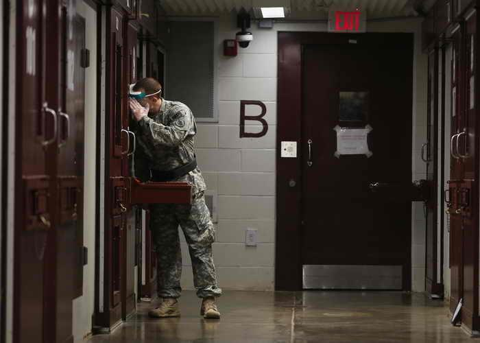 Гуантанамо. Фото: Joe Raedle/Getty Image