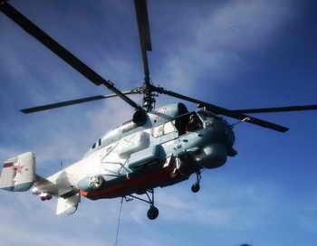 Вертолёт Ка-27 на учениях. Фото: Maiquel Torcatt/AFP/Getty Images
