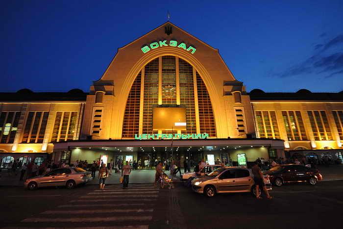 Киев. Центральный железнодорожный вокзал. Фото: Jorge Lascar/flickr.com
