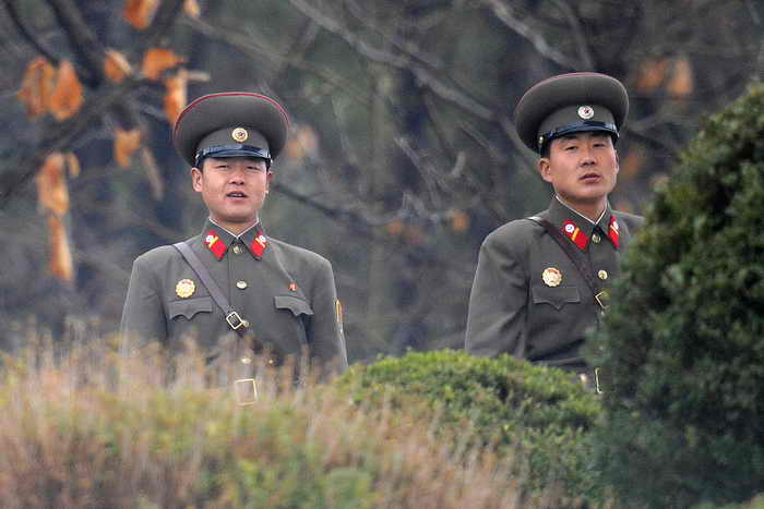 В КНДР задержан американский турист — участник Корейской войны. Фото: JUNG YEON-JE/AFP/Getty Images
